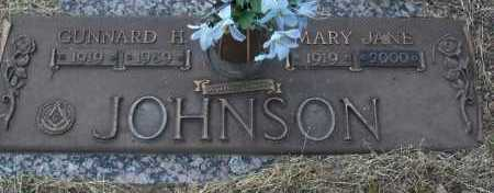 JOHNSON, MARY JANE - Yavapai County, Arizona | MARY JANE JOHNSON - Arizona Gravestone Photos