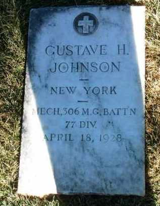 JOHNSON, GUSTAVE HILDING - Yavapai County, Arizona | GUSTAVE HILDING JOHNSON - Arizona Gravestone Photos