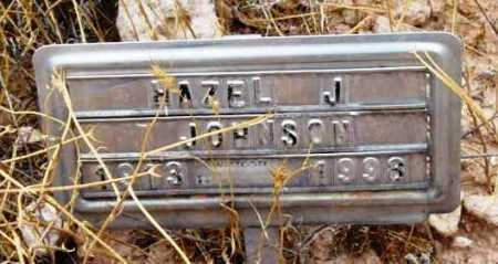 JOHNSON, HAZEL JOSEPHINE - Yavapai County, Arizona | HAZEL JOSEPHINE JOHNSON - Arizona Gravestone Photos