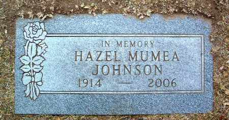 MUMEA, HAZEL IRENE - Yavapai County, Arizona | HAZEL IRENE MUMEA - Arizona Gravestone Photos