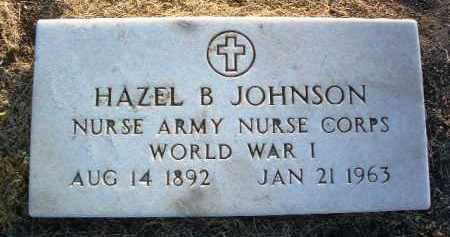 JOHNSON, HAZEL B. - Yavapai County, Arizona | HAZEL B. JOHNSON - Arizona Gravestone Photos