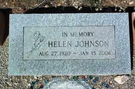 JOHNSON, HELEN - Yavapai County, Arizona | HELEN JOHNSON - Arizona Gravestone Photos
