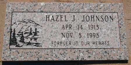 JOHNSON, HAZEL JOSEPHINE - Yavapai County, Arizona   HAZEL JOSEPHINE JOHNSON - Arizona Gravestone Photos