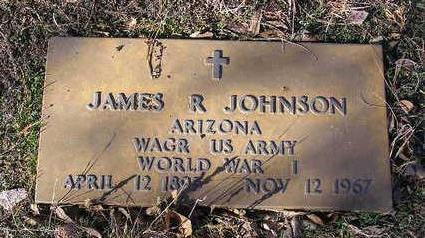 JOHNSON, JAMES R. - Yavapai County, Arizona | JAMES R. JOHNSON - Arizona Gravestone Photos