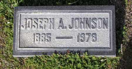 JOHNSON, JOSEPH A. - Yavapai County, Arizona | JOSEPH A. JOHNSON - Arizona Gravestone Photos