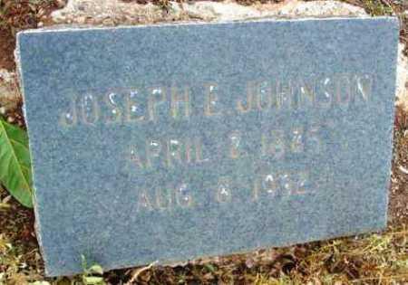 JOHNSON, JOSEPH E. - Yavapai County, Arizona | JOSEPH E. JOHNSON - Arizona Gravestone Photos