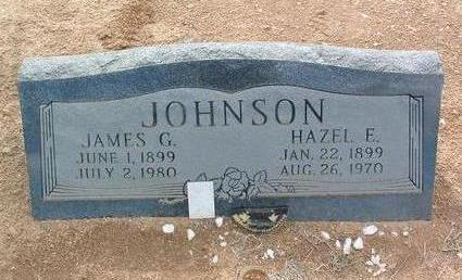 JOHNSON, HAZEL EUNICE - Yavapai County, Arizona | HAZEL EUNICE JOHNSON - Arizona Gravestone Photos