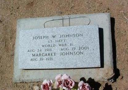 JOHNSON, JOSEPH W. - Yavapai County, Arizona | JOSEPH W. JOHNSON - Arizona Gravestone Photos