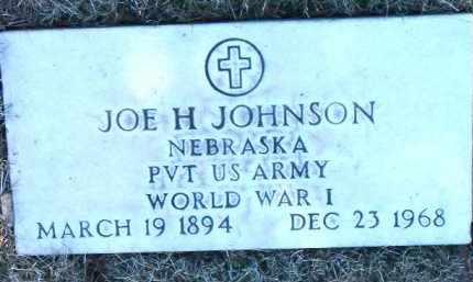 JOHNSON, JOE H. - Yavapai County, Arizona   JOE H. JOHNSON - Arizona Gravestone Photos