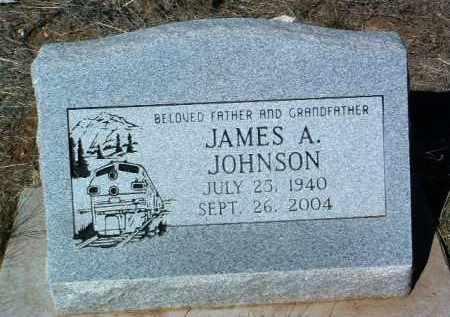 JOHNSON, JAMES ARTHUR - Yavapai County, Arizona | JAMES ARTHUR JOHNSON - Arizona Gravestone Photos