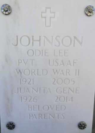 JOHNSON, JUANITA GENE - Yavapai County, Arizona | JUANITA GENE JOHNSON - Arizona Gravestone Photos