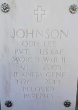 JOHNSON, JUANITA GENE - Yavapai County, Arizona   JUANITA GENE JOHNSON - Arizona Gravestone Photos