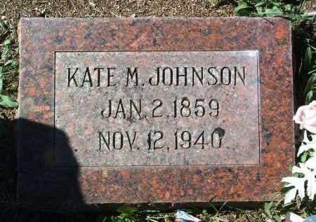 JOHNSON, KATE HELEN - Yavapai County, Arizona   KATE HELEN JOHNSON - Arizona Gravestone Photos