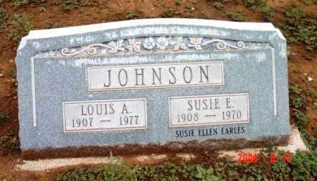 EARLES JOHNSON, SUSIE - Yavapai County, Arizona   SUSIE EARLES JOHNSON - Arizona Gravestone Photos