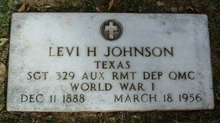 JOHNSON, LEVI HASLETT - Yavapai County, Arizona | LEVI HASLETT JOHNSON - Arizona Gravestone Photos