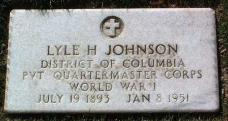 JOHNSON, LYLE H. - Yavapai County, Arizona | LYLE H. JOHNSON - Arizona Gravestone Photos