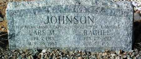 JOHNSON, RACHEL - Yavapai County, Arizona | RACHEL JOHNSON - Arizona Gravestone Photos