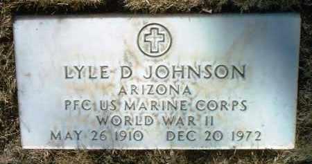 JOHNSON, LYLE DONAVON - Yavapai County, Arizona | LYLE DONAVON JOHNSON - Arizona Gravestone Photos