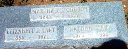 JOHNSON, MARTHA A. - Yavapai County, Arizona | MARTHA A. JOHNSON - Arizona Gravestone Photos
