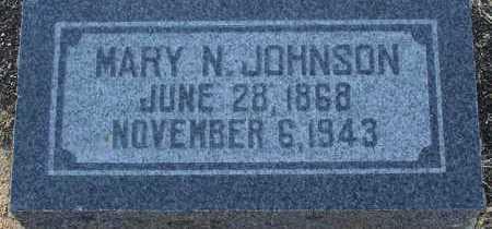 JOHNSON, MARY N. - Yavapai County, Arizona   MARY N. JOHNSON - Arizona Gravestone Photos