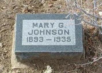 JOHNSON, MARY GRACE - Yavapai County, Arizona | MARY GRACE JOHNSON - Arizona Gravestone Photos