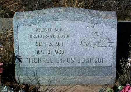 JOHNSON, MICHAEL LAROY - Yavapai County, Arizona | MICHAEL LAROY JOHNSON - Arizona Gravestone Photos
