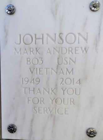 JOHNSON, MARK ANDREW - Yavapai County, Arizona   MARK ANDREW JOHNSON - Arizona Gravestone Photos