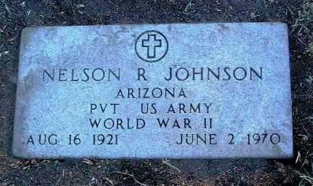JOHNSON, NELSON RICHARD - Yavapai County, Arizona   NELSON RICHARD JOHNSON - Arizona Gravestone Photos