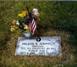 JOHNSON, NELSON REETURNE - Yavapai County, Arizona   NELSON REETURNE JOHNSON - Arizona Gravestone Photos