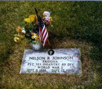 JOHNSON, NELSON REETURNE - Yavapai County, Arizona | NELSON REETURNE JOHNSON - Arizona Gravestone Photos