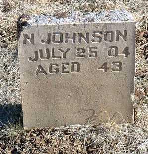 JOHNSON, N. - Yavapai County, Arizona | N. JOHNSON - Arizona Gravestone Photos