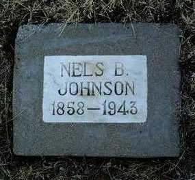 JOHNSON, NELS B. - Yavapai County, Arizona | NELS B. JOHNSON - Arizona Gravestone Photos