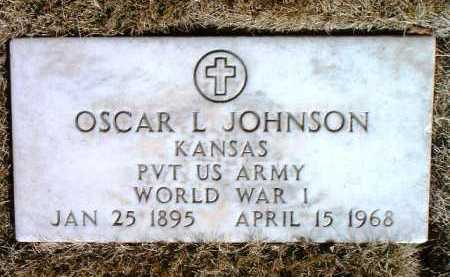 JOHNSON, OSCAR L. - Yavapai County, Arizona | OSCAR L. JOHNSON - Arizona Gravestone Photos