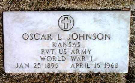 JOHNSON, OSCAR L. - Yavapai County, Arizona | OSCAR L. JOHNSON - Arizona Gravestone Photos