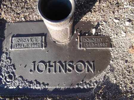 JOHNSON, OSCAR EDWARD - Yavapai County, Arizona | OSCAR EDWARD JOHNSON - Arizona Gravestone Photos