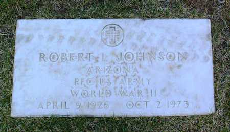 JOHNSON, ROBERT L. - Yavapai County, Arizona | ROBERT L. JOHNSON - Arizona Gravestone Photos