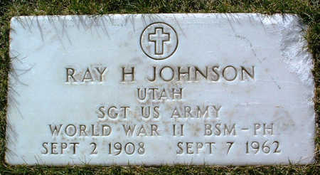 JOHNSON, RAY HORACE - Yavapai County, Arizona | RAY HORACE JOHNSON - Arizona Gravestone Photos
