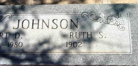 JOHNSON, RUTH S. - Yavapai County, Arizona   RUTH S. JOHNSON - Arizona Gravestone Photos