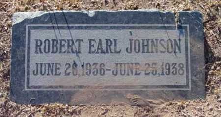 JOHNSON, ROBERT EARL - Yavapai County, Arizona | ROBERT EARL JOHNSON - Arizona Gravestone Photos