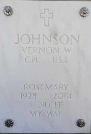 JOHNSON, ROSEMARY - Yavapai County, Arizona | ROSEMARY JOHNSON - Arizona Gravestone Photos