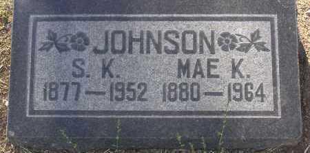 JOHNSON, MAE KATHERINE - Yavapai County, Arizona | MAE KATHERINE JOHNSON - Arizona Gravestone Photos