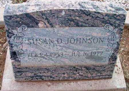 JOHNSON, SUSAN D. - Yavapai County, Arizona | SUSAN D. JOHNSON - Arizona Gravestone Photos