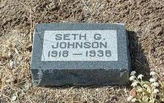 JOHNSON, SETH GUERNSEY - Yavapai County, Arizona | SETH GUERNSEY JOHNSON - Arizona Gravestone Photos