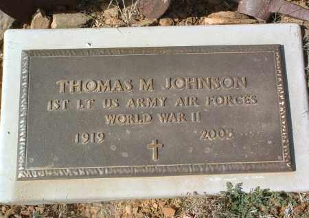 JOHNSON, THOMAS MICHAEL - Yavapai County, Arizona | THOMAS MICHAEL JOHNSON - Arizona Gravestone Photos