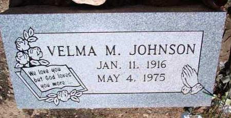 JOHNSON, VELMA M. - Yavapai County, Arizona | VELMA M. JOHNSON - Arizona Gravestone Photos