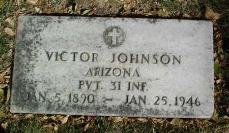 JOHNSON, VICTOR - Yavapai County, Arizona | VICTOR JOHNSON - Arizona Gravestone Photos