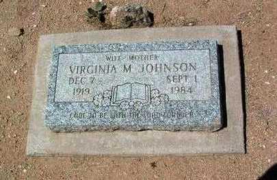 JENKINS JOHNSON, VIRGINIA - Yavapai County, Arizona | VIRGINIA JENKINS JOHNSON - Arizona Gravestone Photos
