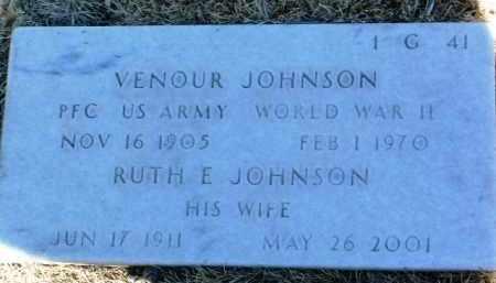 JOHNSON, RUTH E. - Yavapai County, Arizona | RUTH E. JOHNSON - Arizona Gravestone Photos