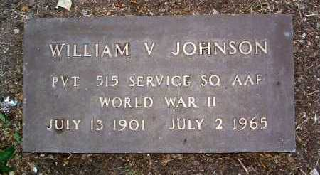 JOHNSON, WILLIAM V. - Yavapai County, Arizona | WILLIAM V. JOHNSON - Arizona Gravestone Photos