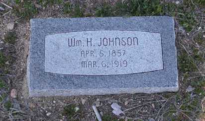 JOHNSON, WILLIAM H. - Yavapai County, Arizona | WILLIAM H. JOHNSON - Arizona Gravestone Photos